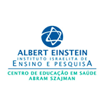 Logotipo Ensino e Pesquisa Einstein
