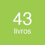 43 livros produzidos