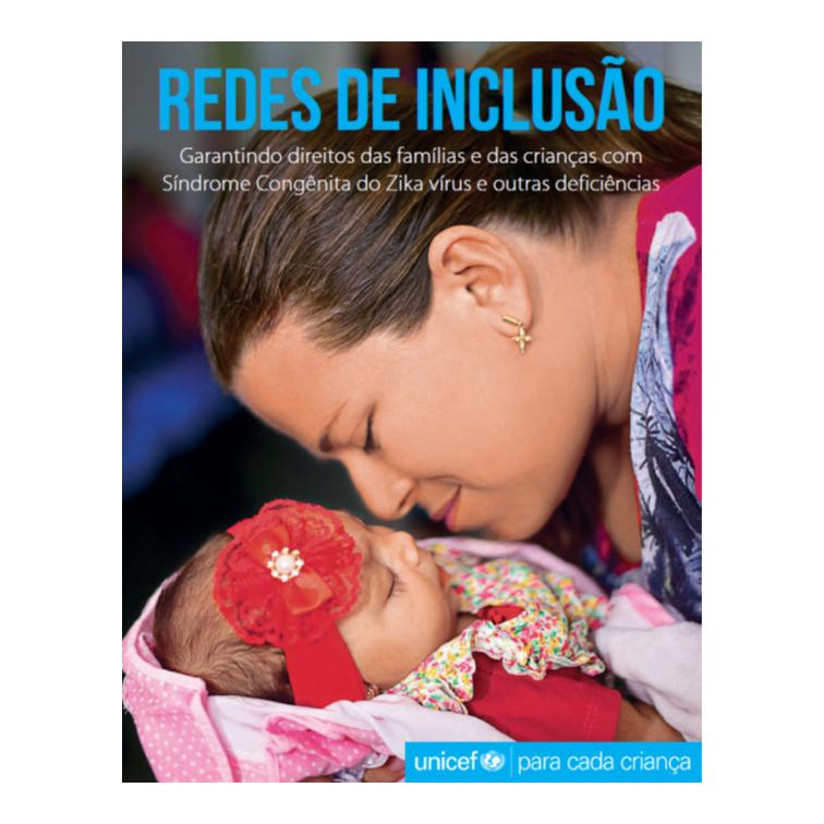 """Unicef - capa do livro """"Redes de Inclusão"""""""