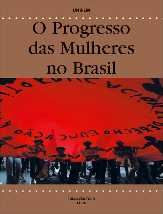 O Progresso das Mulheres no Brasil - capa do livro