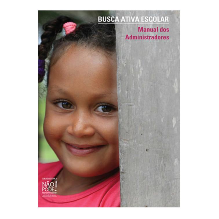 Unicef - Busca Ativa Escolar - livro produzido pela Cross Content