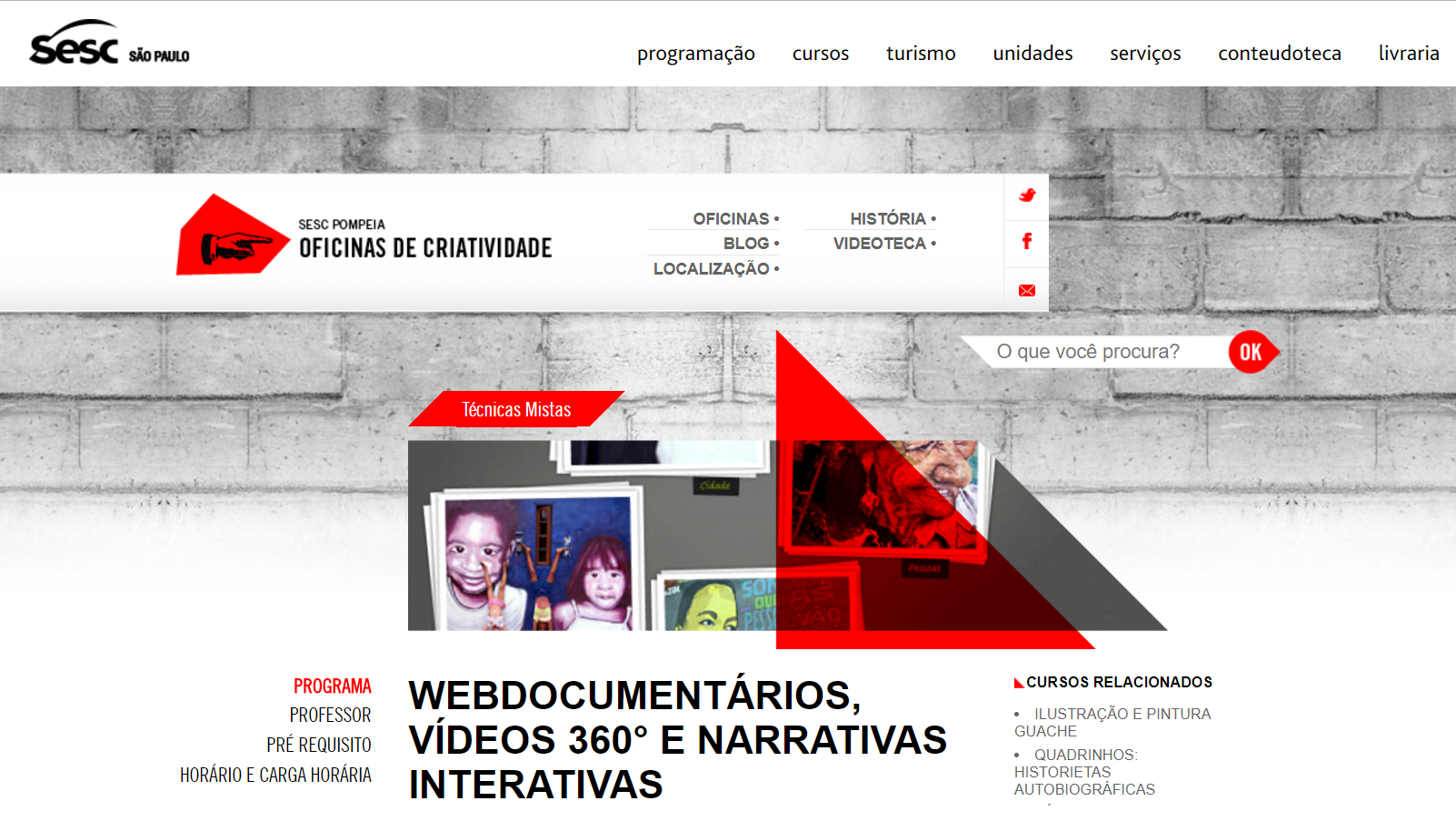 Webdocumentários, Vídeos 360° e Narrativas Interativas