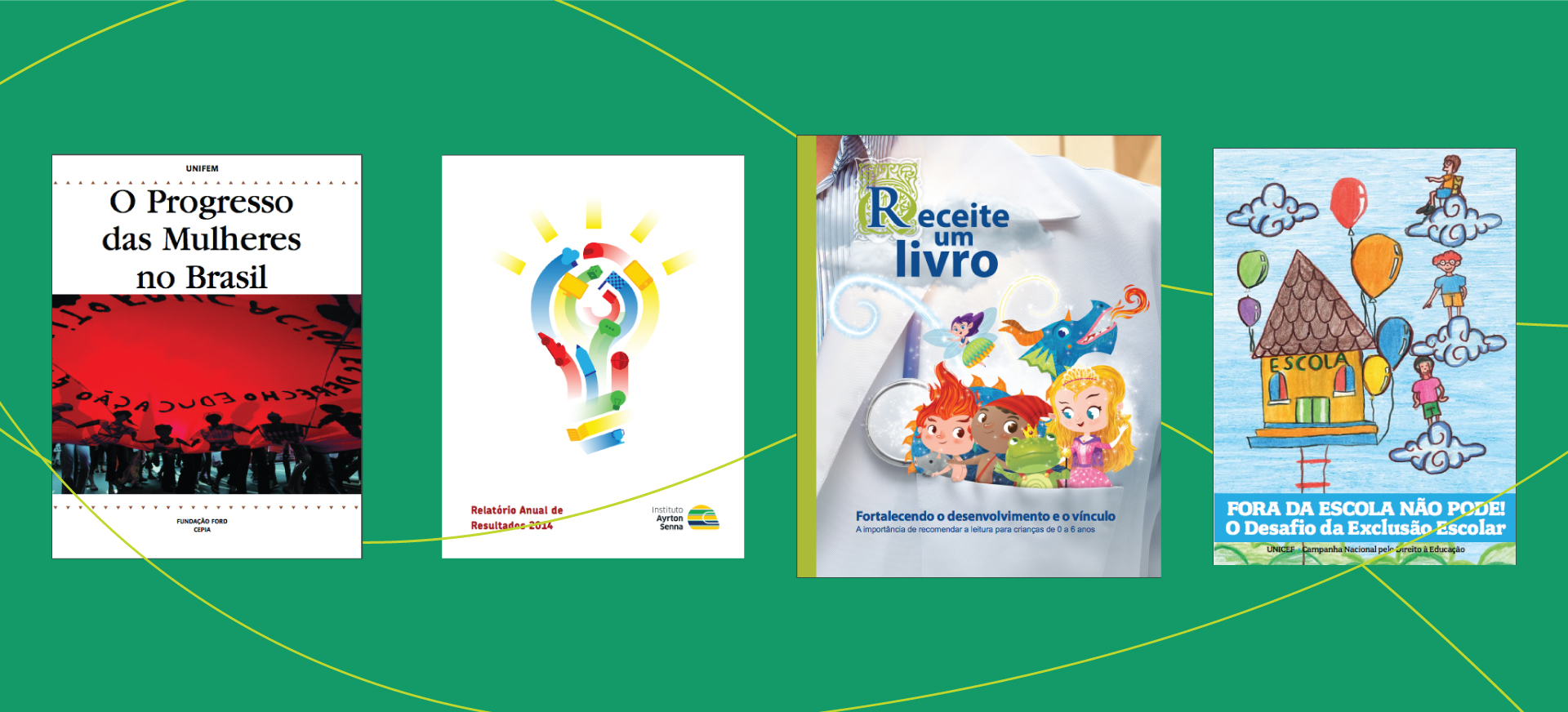 Capas de livros produzidos pela Cross Content