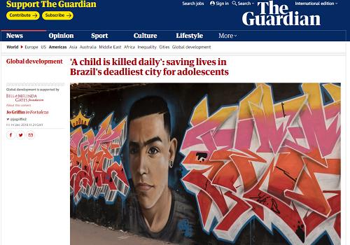 The Guardian - reprodução