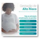 Infográfico produzido pela Cross Content para o Hospital e Maternidade Santa Joana