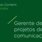 Gerente de projetos de comunicação